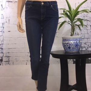 7 for All Mankind Slim Straight Ankle Jeans